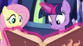 "Fluttershy ""what is it, Twilight?"" EG2.png"
