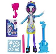 Zabawka Rainbow Rocks - DJ Pon-3 z sukienką do kolorowania
