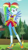 EG4 Rainbow Dash w stroju kryształowej strażniczki