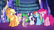 Twilight's friends exchange glances EG2