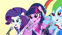Trailer klipów RR - Rarity, Twilight i Rainbow śpiewają
