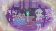 Wallflower in background at Friendship Games EGFF