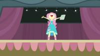 Fluttershy giving a loud audition CYOE2a