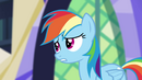 "Rainbow Dash ""the connection between their world and Equestria"" EG2"