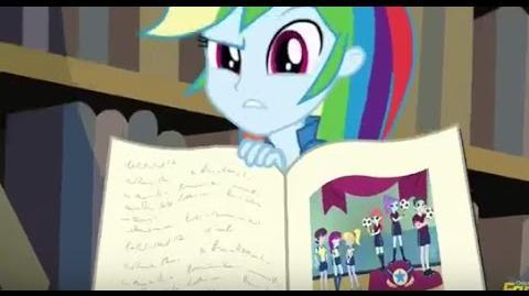 HD Sneak Peek - My Little Pony Equestria Girls - Friendship Games - Full