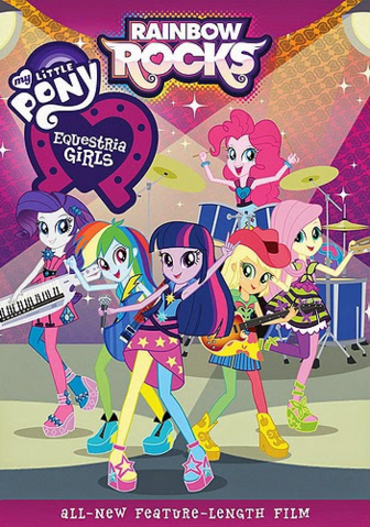 Ficheiro:My Little Pony Equestria Girls Rainbow Rocks DVD cover art.png