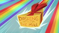 Dashing Through the Mall title card EGHU