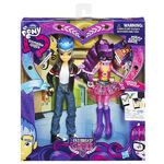 Friendship Games Flash Sentry & Sci-Twi packaging