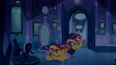 Twilight and Sunset stumble in mirror room EG