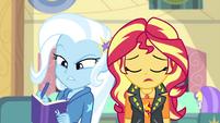 Trixie writes; Sunset Shimmer sighs EGFF