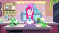 Pinkie Pie about to pour sprinkles EGDS30