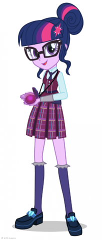 Friendship Games Crystal Prep Twilight Sparkle artwork