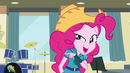 Pinkie Pie pointing to her right EG3