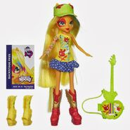 Zabawka Rainbow Rocks - Applejack z instrumentem