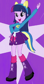 EG Twilight Sparkle w stroju Wondercolta