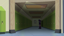 Twilight and Spike alone in the dim hall EG