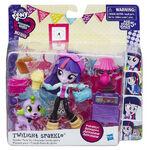 Equestria Girls Minis Twilight Sparkle Sleepover set packaging
