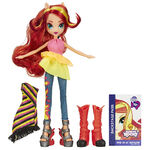 Rainbow Rocks Sunset Shimmer Fashion Doll