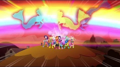 European Portuguese Equestria Girls Rainbow Rocks Welcome To The Show HD