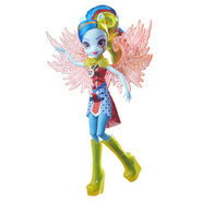 Legend of Everfree Crystal Wings Rainbow Dash doll