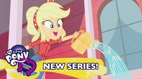 MLP Equestria Girls - '5 to 9' Music Video 💪