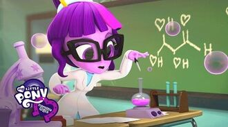 "MLP Equestria Girls Minis - Adventures at Canterlot High ""Sci-Twi's Lab""-0"