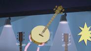 Pinkie Pie holding up a banjo EG2