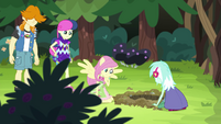 Fluttershy waiting for the gophers EG4