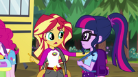 """Sunset """"she's a pony princess"""" EG4"""