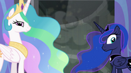 Celestia and Luna reveal a secret passage EGFF