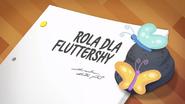 EG COYA01 02 Karta tytułowa do odcinka ''Rola dla Fluttershy'' (polska wersja dubbingowa)