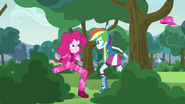"""Rainbow """"that's like, the opposite of camouflage"""" EG3"""