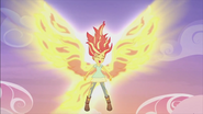 "EG2 klip ""Mogę Zmienić Się"" Sunset Shimmer ze skrzydłami"