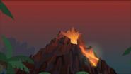 EG MF Scena z wulkanem