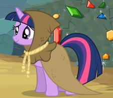Twilight Sparkle como Clover la Sabia ID T2E11