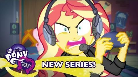 'Game Stream' Original Short 🎮 MLP Equestria Girls Season 2