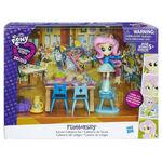Equestria Girls Minis Fluttershy School Cafeteria Set packaging