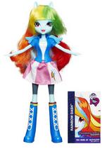 Rainbow Dash Equestria Girls show attire doll