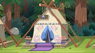 EG4 szafirowy namiot