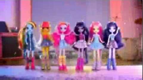Equestria Girls Fashion Dolls - My Little Pony - TV Toy Commercials