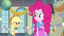 Applejack and Pinkie Pie curious EG