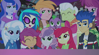 Group shot of supporting characters EG2