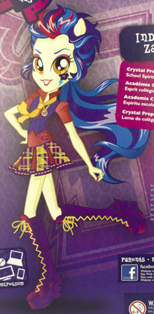 Indigo Zap School Spirit box art ID