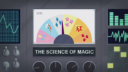 The Science of Magic animated short title card EG3