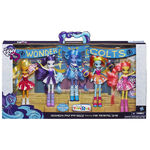 Equestria Girls Pep Rally dolls packaging