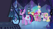 Twilight about to walk through the mirror EG