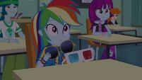 Rainbow Dash removing her eyewear EGDS22