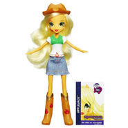 Equestria Girls Collection Applejack doll