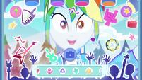 "Rainbow Dash using ""Rock Band"" filter EGDS44"
