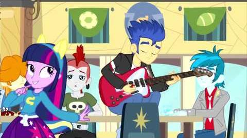 Equestria Girls (Cafeteria Song) - Romanian